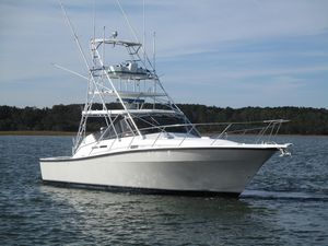 Used Rampage 36 Sportfisherman Express Cruiser Boat For Sale