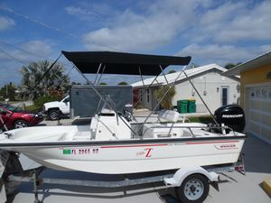 Used Boston Whaler 150 Montauk Center Console Fishing Boat For Sale