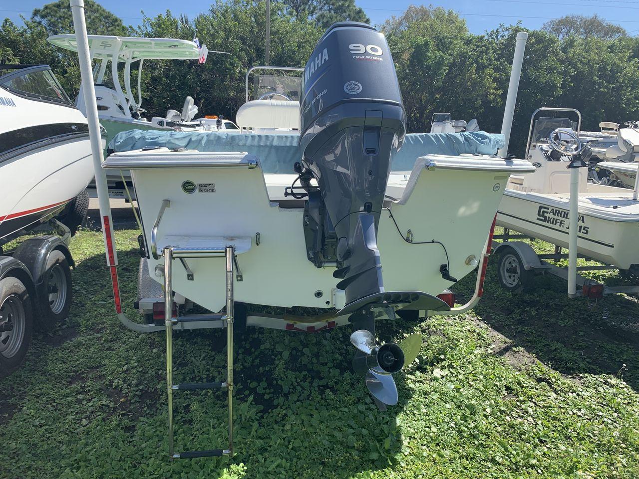 2011 Used Carolina Skiff Flats Fishing Boat For Sale