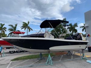 Used Sea Chaser 21 Sea Skiff Commercial Boat For Sale