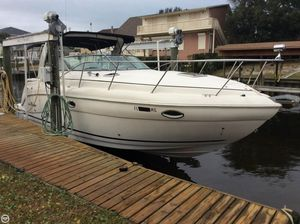 Used Rinker 320 Fiesta Vee Express Cruiser Boat For Sale