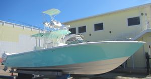 Used Seavee 390 B Quad Center Console Fishing Boat For Sale