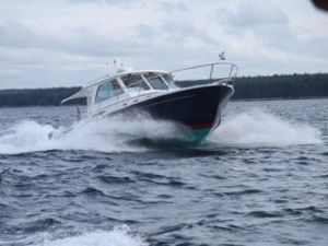 Used Back Cove Hardtop Express Cruiser Boat For Sale