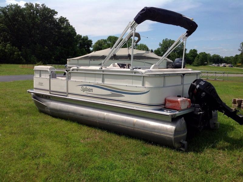 Used Sylvan 818 Pontoon Boat For Sale