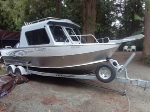 Used Hewescraft Ocean Pro Saltwater Fishing Boat For Sale