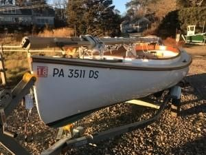 Used Arey's Pond Catboat Daysailer Sailboat For Sale