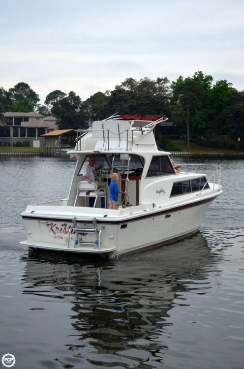 Used Uniflite 28 Cruiser Sports Fishing Boat For Sale