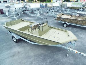 New Lowe Roughneck 1860 Pathfinder Tunnel JetRoughneck 1860 Pathfinder Tunnel Jet Aluminum Fishing Boat For Sale