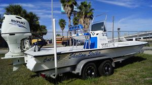 New Shallow Stalker CAT-240CAT-240 Center Console Fishing Boat For Sale