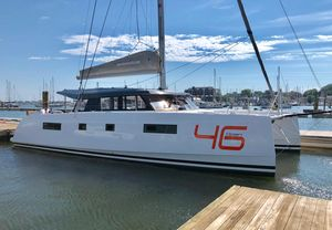 Used Nautitech 46 Open Catamaran Sailboat For Sale