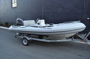 Used Ribcraft 4.8T Rigid Sports Inflatable Boat For Sale