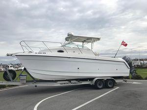 Used Glacier Bay 2670 Island Power Catamaran Boat For Sale