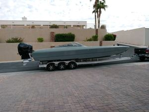 Used Predator 306 Wide Body Power Catamaran Boat For Sale