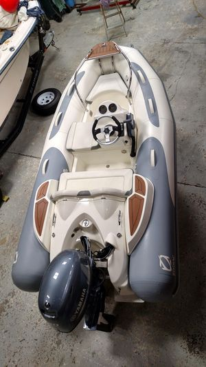 Used Zodiac Yachtline 340dl Rigid Sports Inflatable Boat For Sale