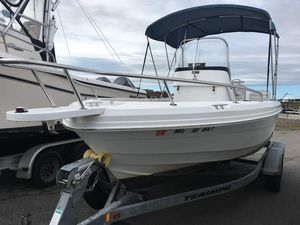 Used Triumph 195 CC (CLIFF)195 CC (CLIFF) Saltwater Fishing Boat For Sale