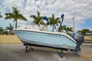 Used Century 2600 Walk Around Center Console Fishing Boat For Sale