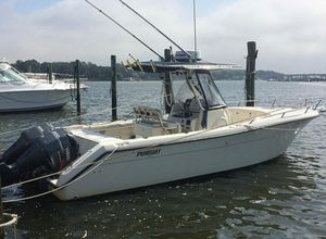 Used Pursuit 2670 Cuddy Console Center Console Fishing Boat For Sale