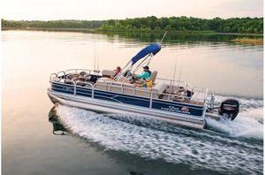 New Sun Tracker FISHIN'BARGE 22 w/ Mercury 115Hp ELPT ProXS 4SFISHIN'BARGE 22 w/ Mercury 115Hp ELPT ProXS 4S Pontoon Boat For Sale