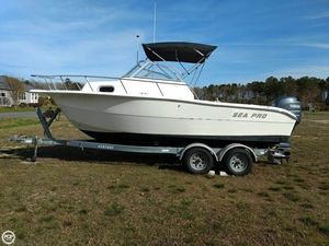 Used Sea Pro 21 Walkaround Fishing Boat For Sale