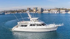 Used Jones-Goodell Yachtfisher Trawler Boat For Sale