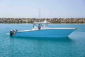 Used Freeman 37VH Center Console Fishing Boat For Sale