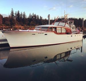 Used Stephens 42 Downeast Fishing Boat For Sale
