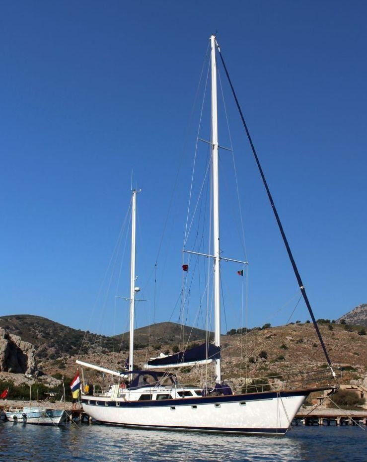 1982 Used Irwin 65' Ketch Center Cockpit Sailboat For Sale