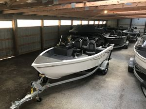 New Lund 1650 Rebel XL SS Sports Fishing Boat For Sale