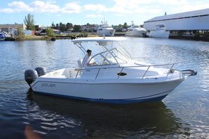 Used Polar 2300 Walkaround2300 Walkaround Fishing Boat For Sale
