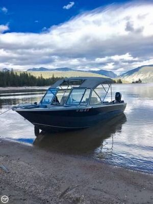 Used Jetcraft 2075 DX Aluminum Fishing Boat For Sale