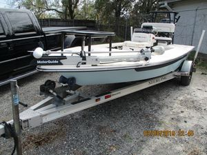 Used Sterling TR7 Center Console Fishing Boat For Sale