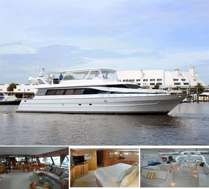 Used Tarrab Wide Body Motor Yacht Motor Yacht For Sale