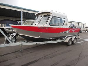 Used Hewescraft 210 Sea Runner HT w/BH210 Sea Runner HT w/BH Aluminum Fishing Boat For Sale