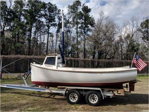 Used Herreshoff Harbor Pilot Pilothouse Boat For Sale