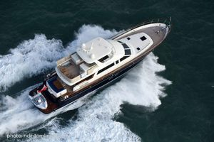 New Hunt Yachts 76 Fast Expedition Yacht Flybridge Boat For Sale