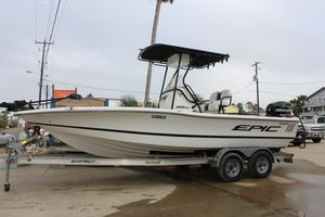 Used Epic 22 Sport Console Center Console Fishing Boat For Sale