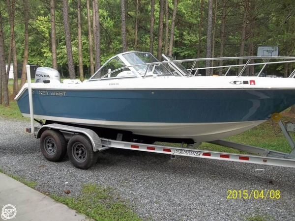 Used Key West 2020 Dual Console Deck Boat For Sale