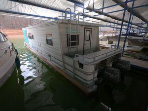 Used Aqua Chalet 10 X 40 WB Pontoon Houseboat Pontoon Boat For Sale
