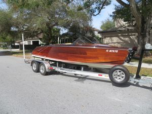Used Custom Saetta Classic Runabout Boat For Sale
