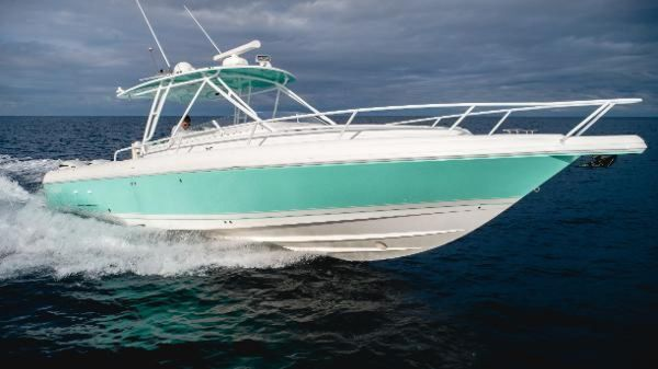 Used Intrepid 350 Walkaround Center Console Fishing Boat For Sale