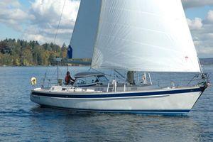Used Hallberg-Rassy 46 Hardtop Cruiser Sailboat For Sale