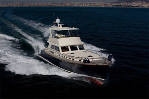 Used Vicem 65 Classic Flybridge Downeast Fishing Boat For Sale
