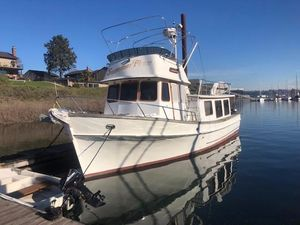 Used Pacific Trawler 37 Pilothouse Trawler Boat For Sale