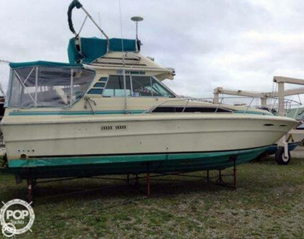Used Sea Ray 340 Sport Fisherman Sports Fishing Boat For Sale