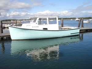 Used Rosborough Hardtop Cruiser Downeast Fishing Boat For Sale