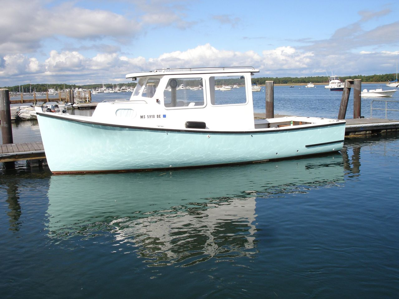 Fishing Boats For Sale >> 1985 Used Rosborough Hardtop Cruiser Downeast Fishing Boat For Sale