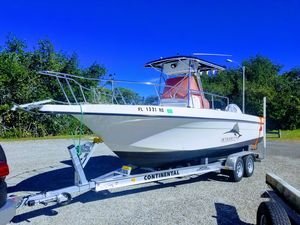 Used Hydra-Sports 230 Seahorse CC230 Seahorse CC Center Console Fishing Boat For Sale