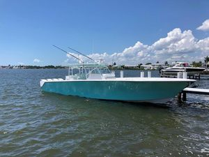 Used Seahunter 45 Center Console Fishing Boat For Sale
