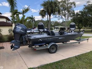 Used Xpress Hydra Express 17 Aluminum Fishing Boat For Sale