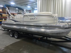 New Sun Tracker Party Barge 24Party Barge 24 Pontoon Boat For Sale
